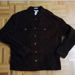 Jones New York chocolate brown jacket.